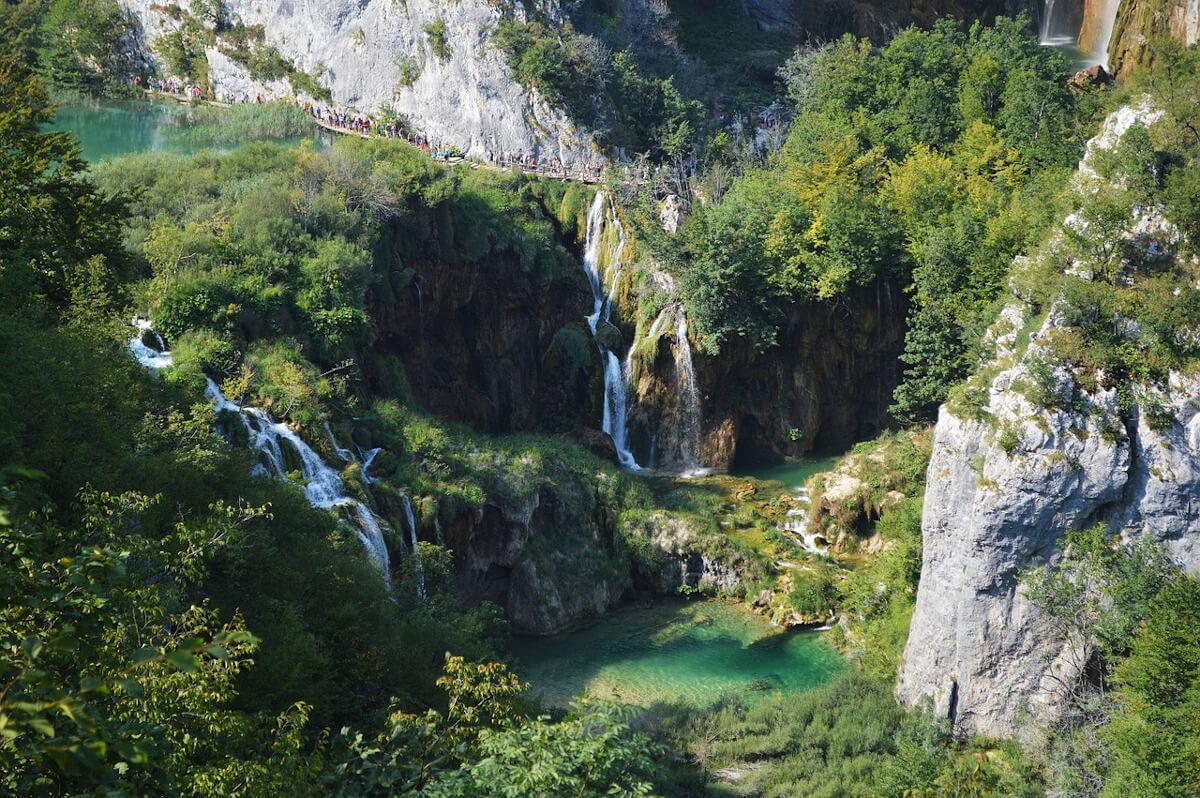 Croatie lac Plitvice parc national